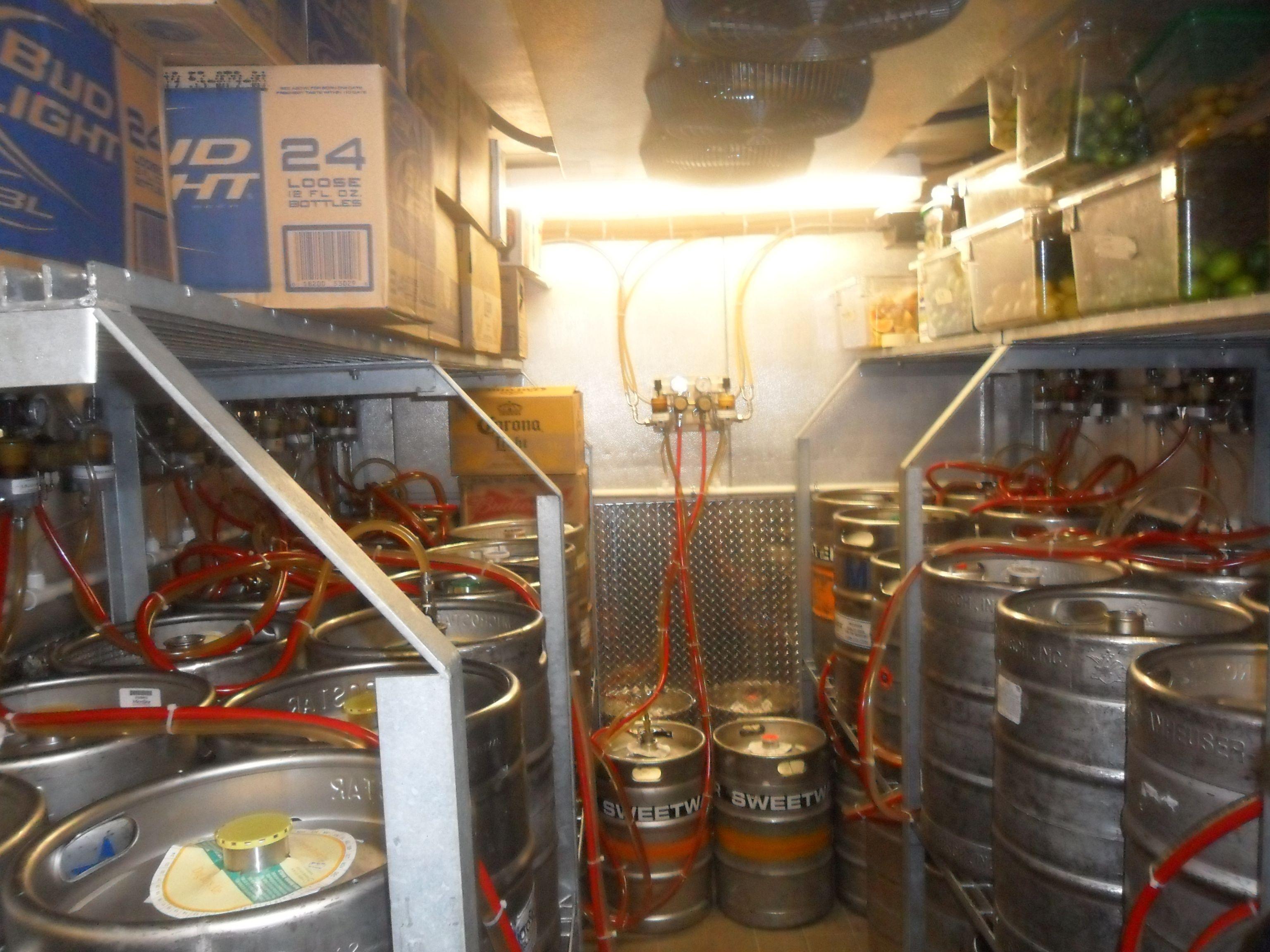 best beer keg walk in cooler - Google Search