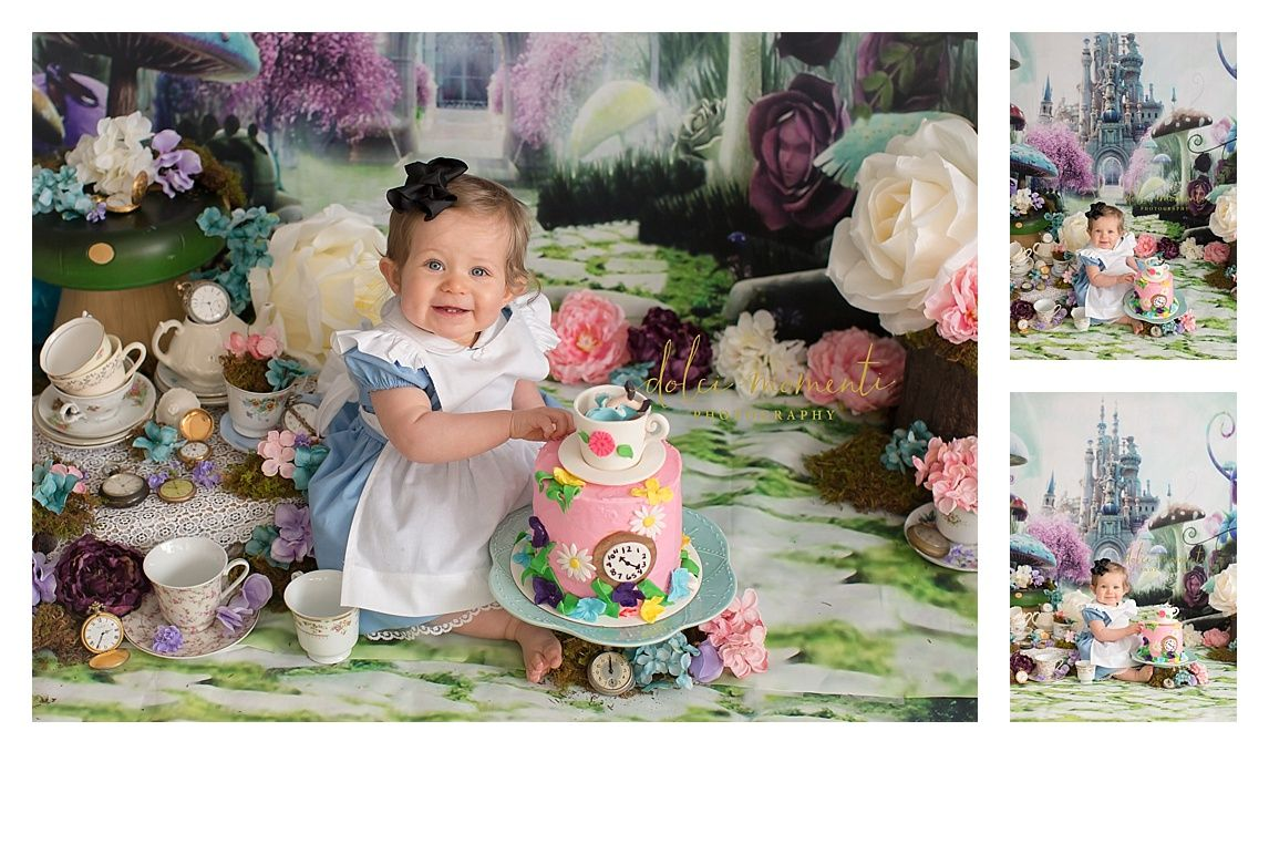 Piper Celebrates Her First Birthday At Dolci Momenti Photography