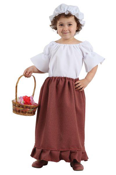 ec685b0b12 Disfraz medieval bebe niña