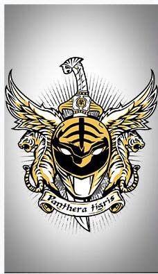 Mighty Morphin White Ranger Power Rangers Pinterest Power