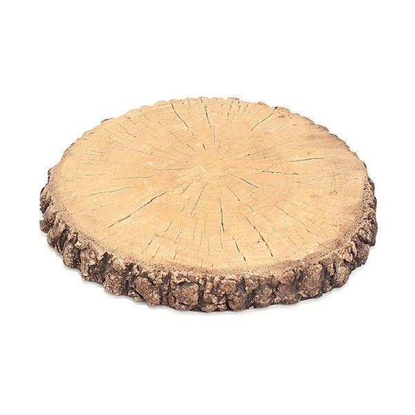 Time Concept, Inc. Large Tree Stump Décor ($22) ❤ liked on Polyvore featuring home and home decor