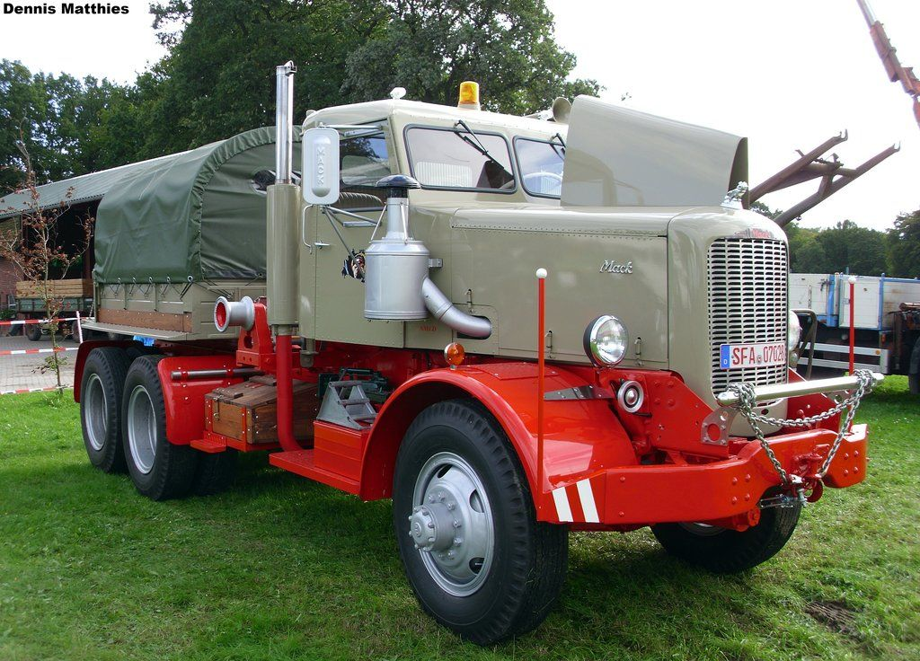 Vintage Mack Truck 52