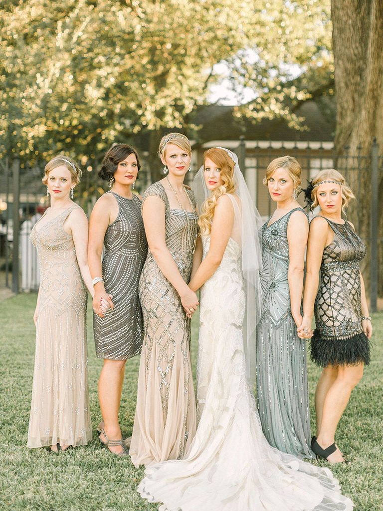 The Best Mismatched Bridesmaid Dresses To Make Your Las Stand Out Theknot