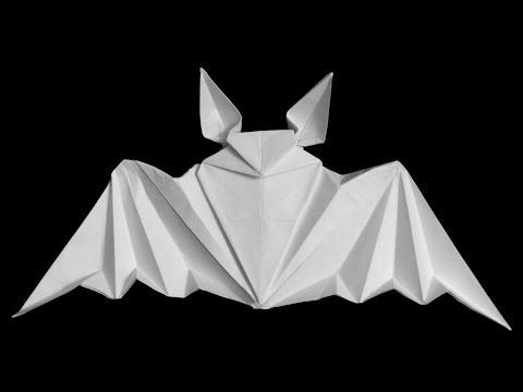 How to make: Origami Paper Bat