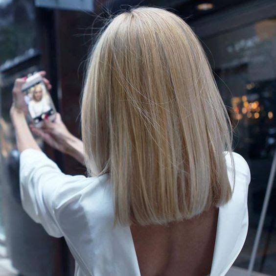 Corte De Cabelo 2018 Blunt Cut Hair Pinterest Hair Hair