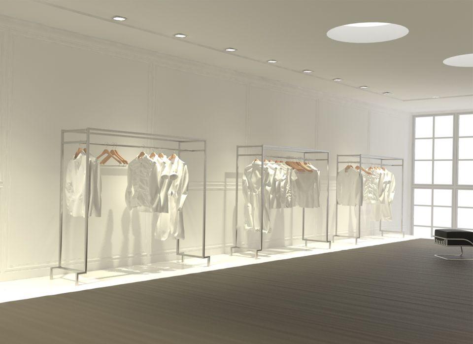 equipamento loja roupa inox - Pesquisa Google