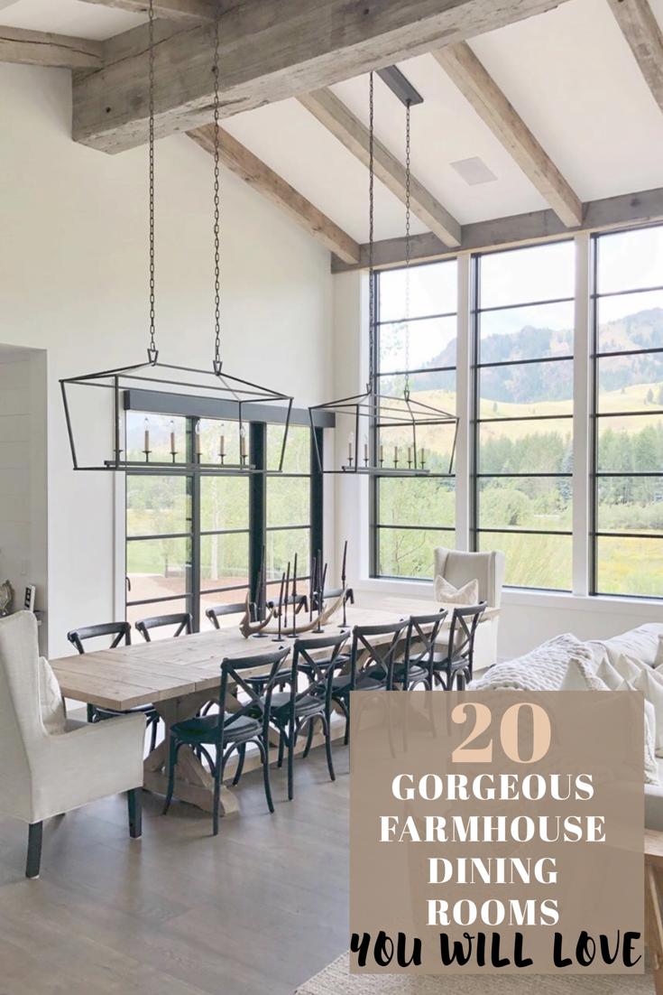 23++ Farmhouse formal dining table ideas
