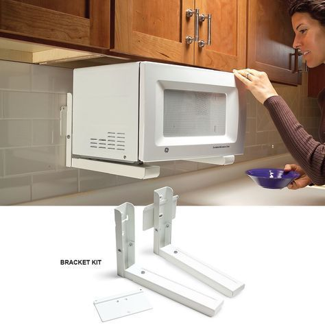 9 Genius Tips For Organizing Kitchens And Clearing The Clutter Microwaves Ideas Of Microwaves Microwave V 2020