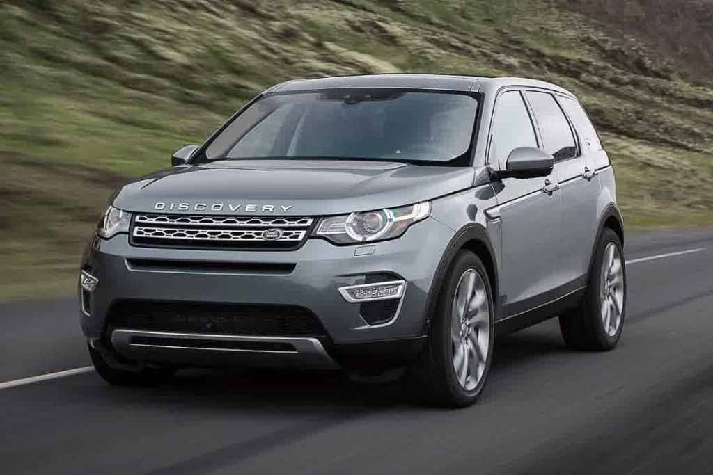 Land Rover Discovery Sport SUV Front View Best Car Image