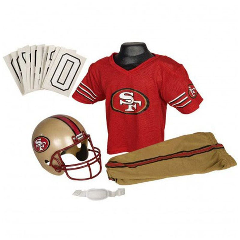 sneakers for cheap f588e f9563 San Francisco 49ers Youth Deluxe Team Uniform Set | Products ...