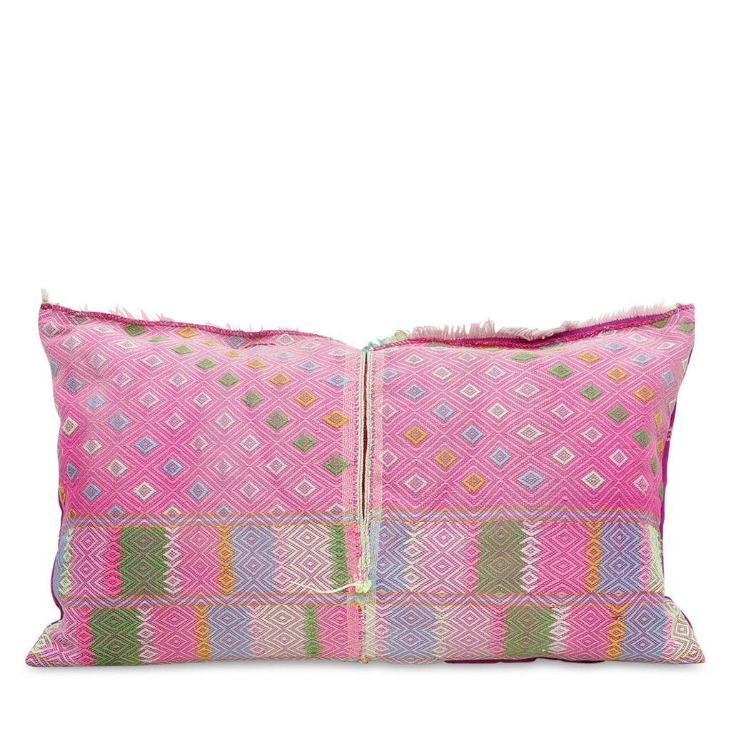 Feidelm Hmong Lumbar Pillow, USD$185 from Furbish
