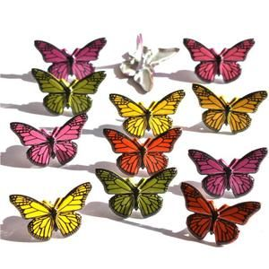 Eyelet Outlet Shape Brads Butterflies