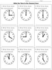 Time clock cut and paste activity telling time to the nearest 5 time clock cut and paste activity telling time to the nearest 5 minutes from king virtue on teachersnotebook 1 page ibookread ePUb