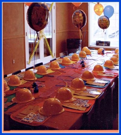 Great 3 Year Old Birthday Party Idea A Bob The Builder Party