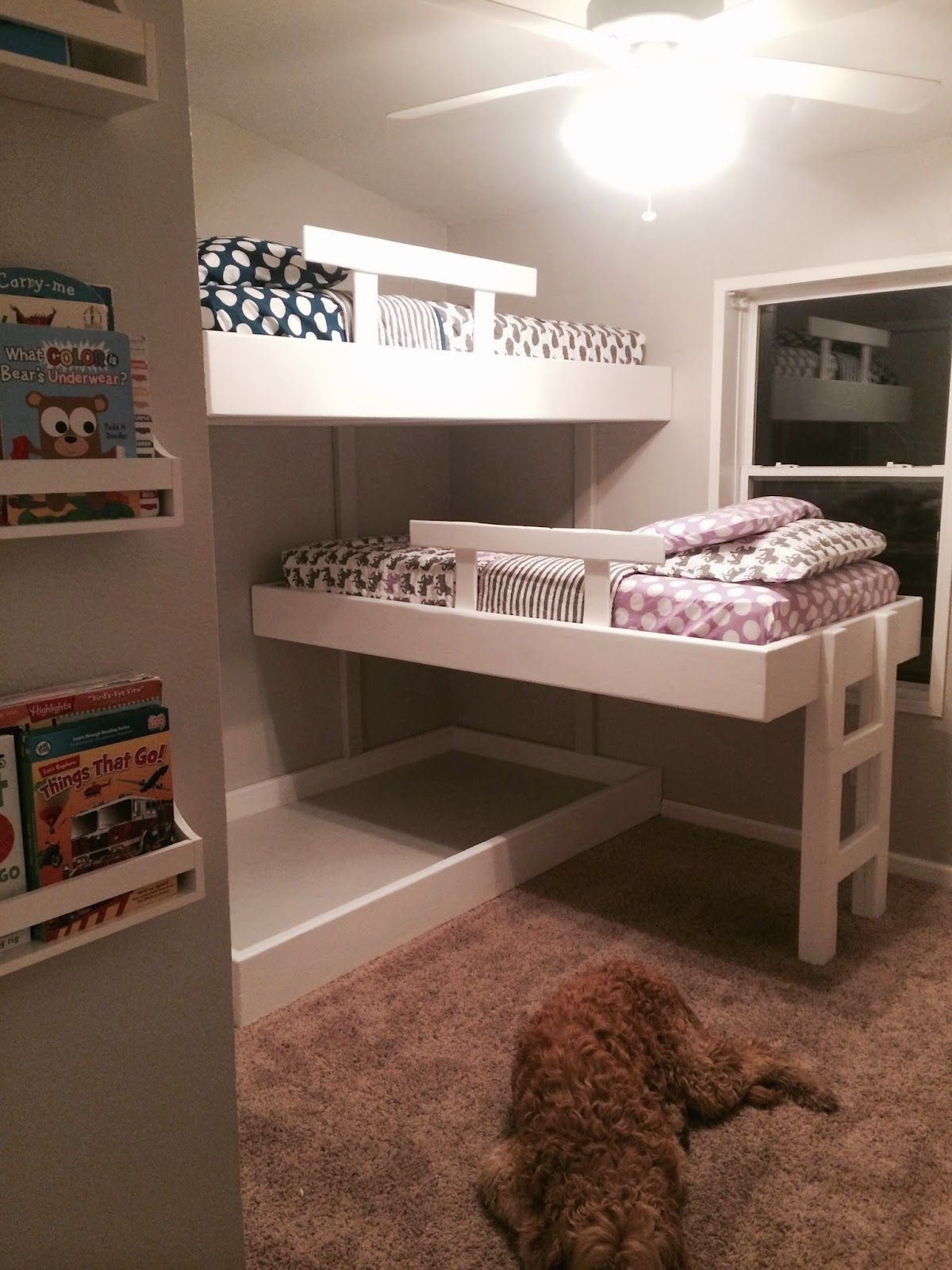 Best Life With Mack Macy Triple Bunk Beds Boys Room 400 x 300