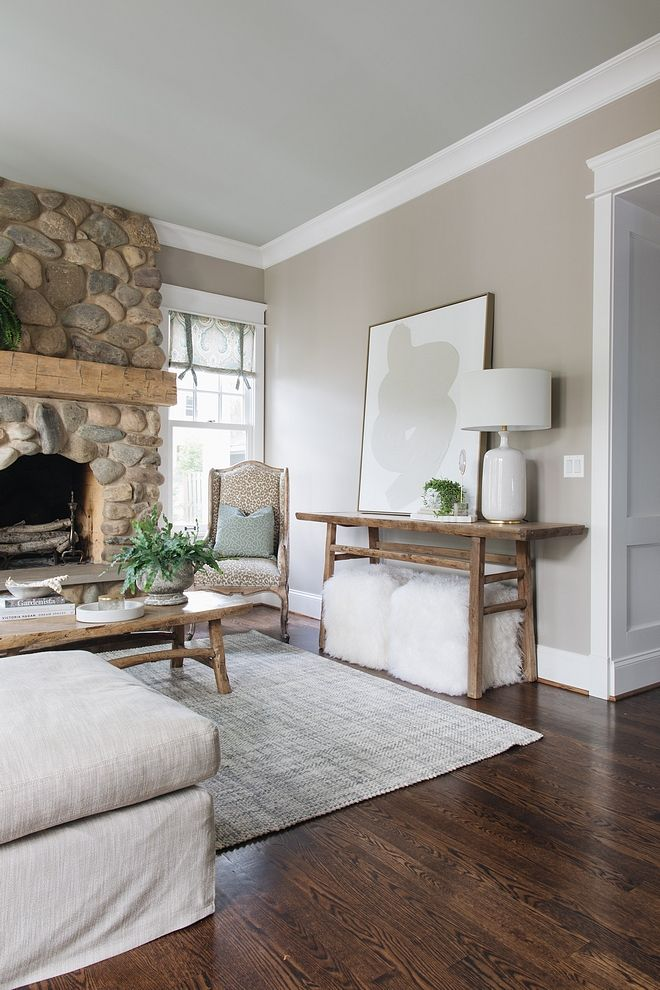 Wall color is Benjamin Moore Cape Hatteras Sand and