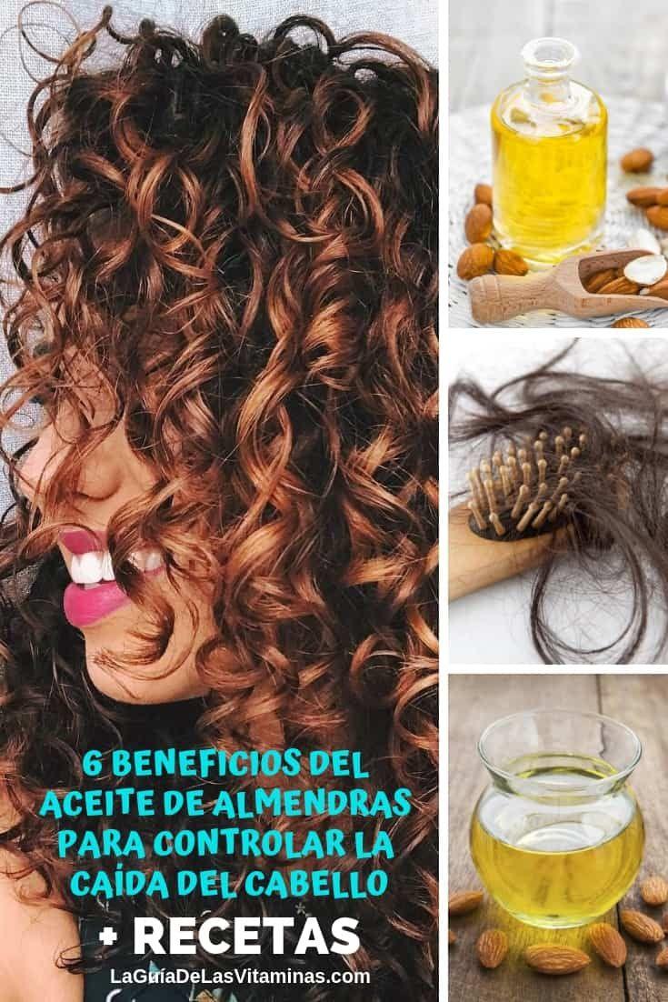 6 beneficios del aceite de almendras para controlar la caída del cabello + recetas
