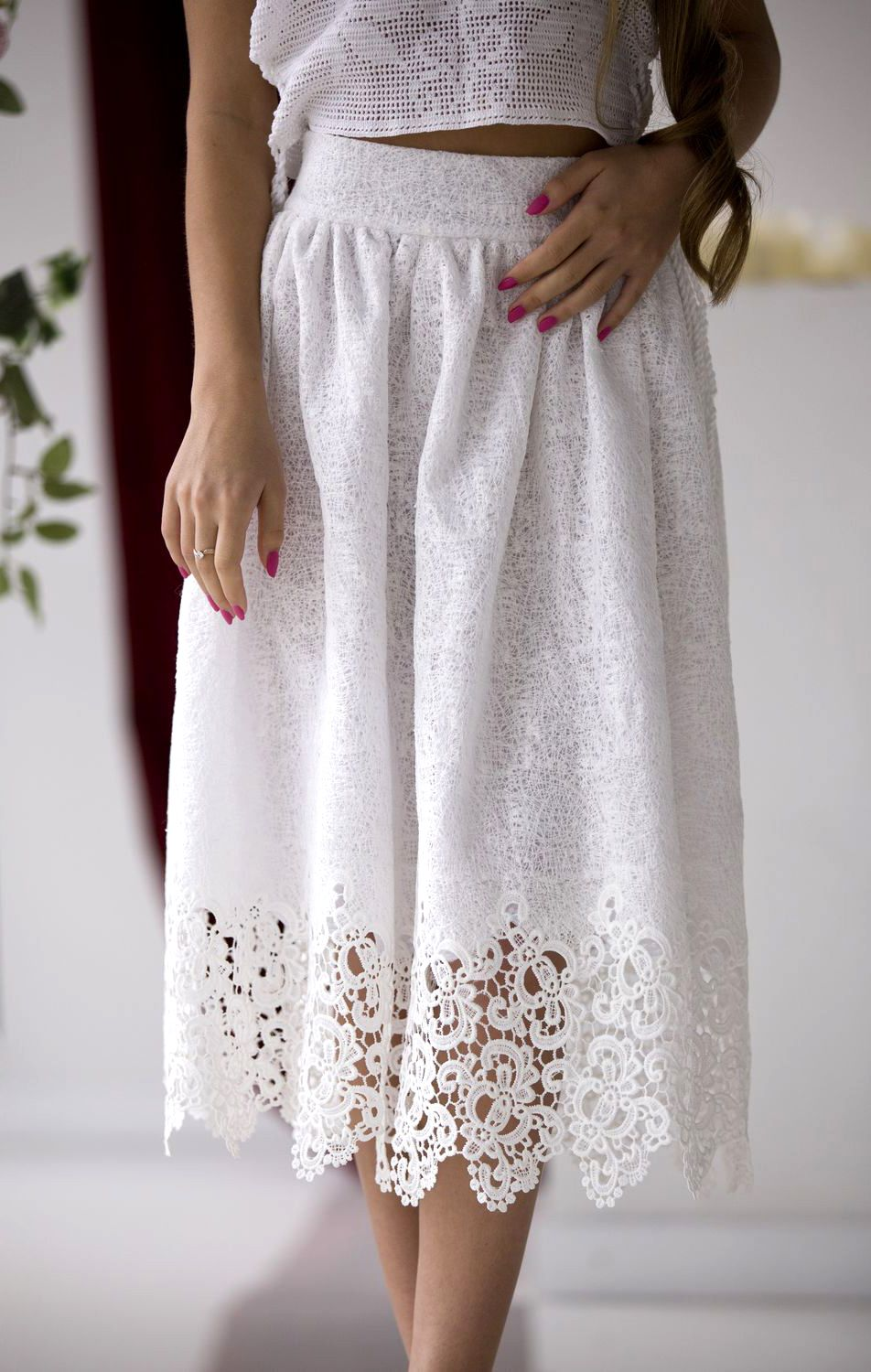 00a895daabe Lace Skirt