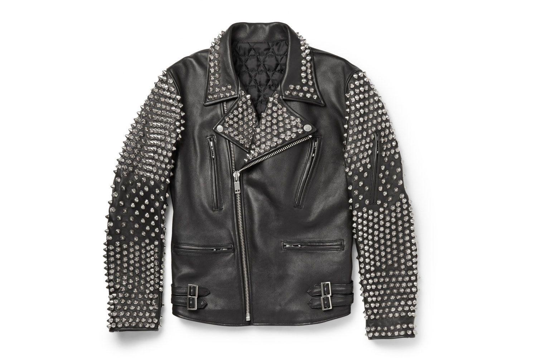 Blackmeans Presents The Perfect Leather Biker Jackets Fitted Biker Jacket Studded Leather Jacket Leather Jacket Men [ 1000 x 1500 Pixel ]