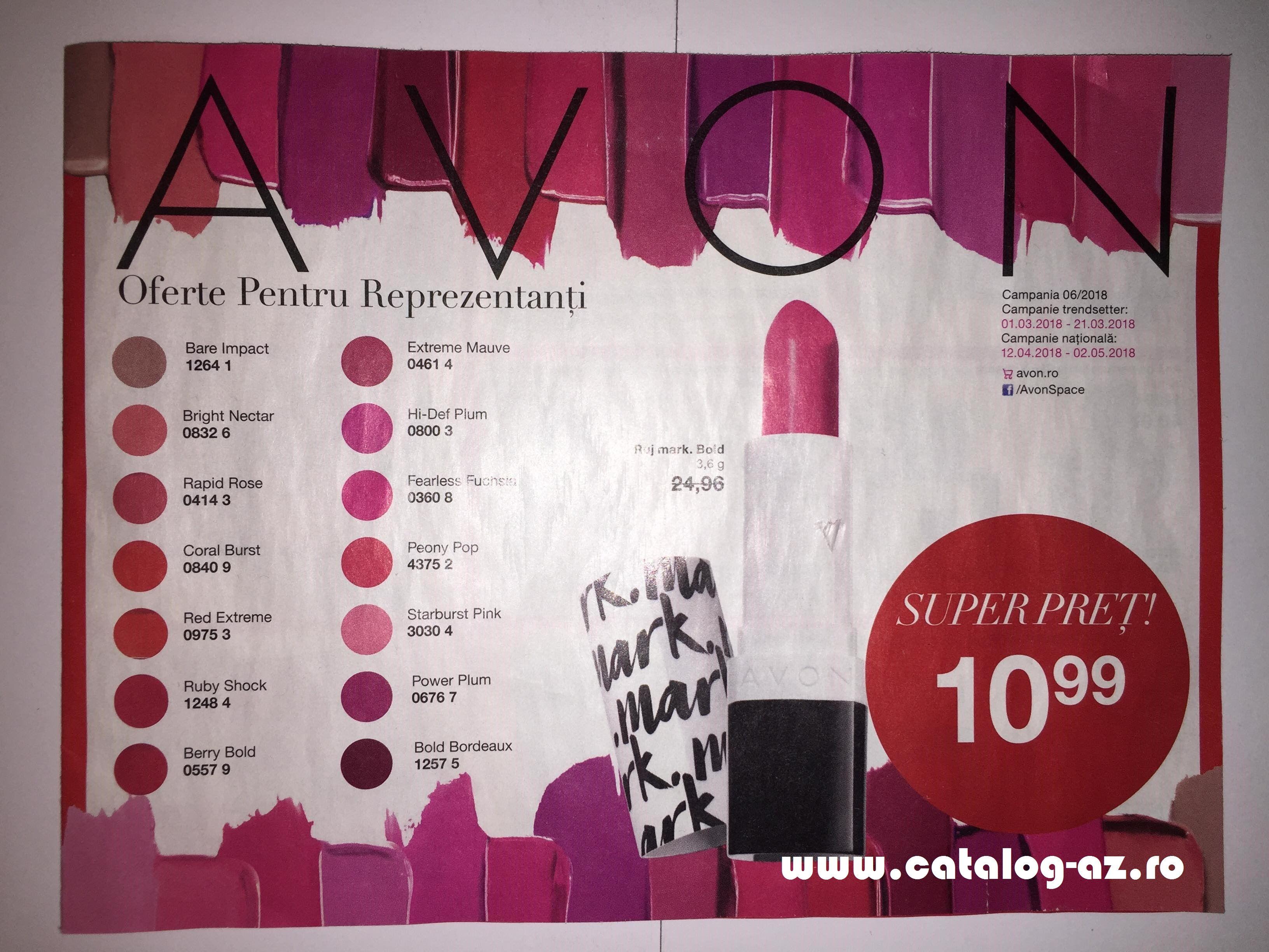 Catalog Avon Oferte Pentru Reprezentanti C6 2018 Cosmetice