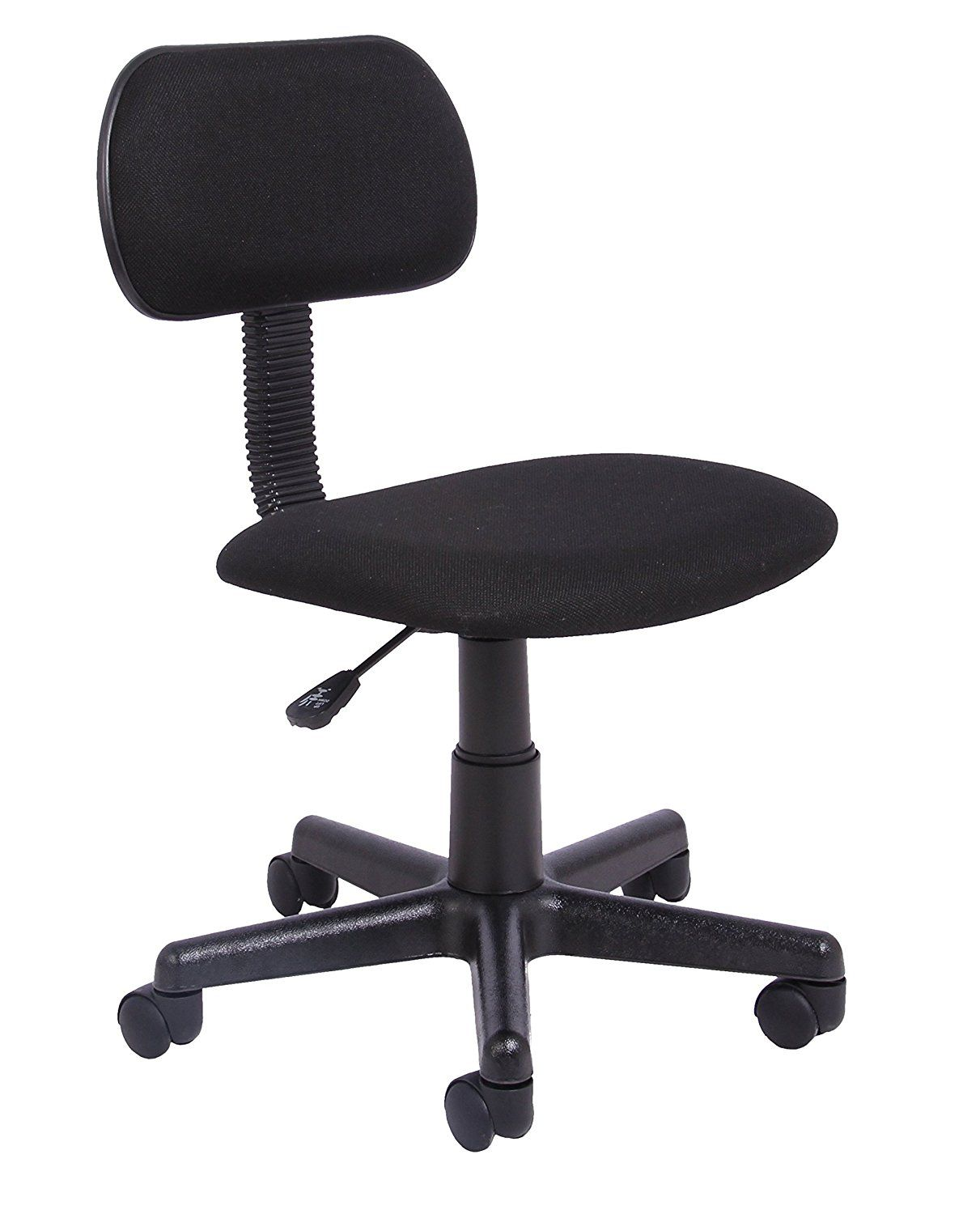 Office Essentials Height Adjustable Desk Chair Black