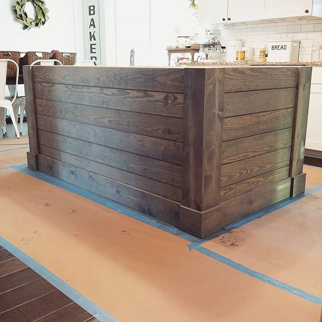 Painted Kitchen Island Ideas: Image Result For How To Make A Kitchen Island With Shiplap