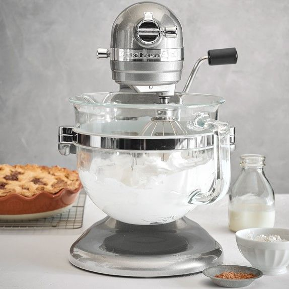 KitchenAid® Professional 6500 Design Series Stand Mixer, Frosted Pearl White