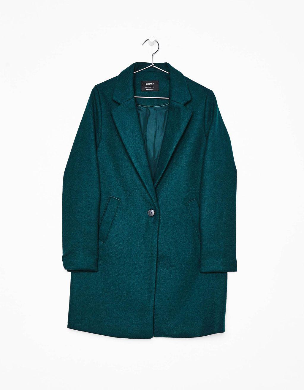 Manteau coupe masculine pour femme