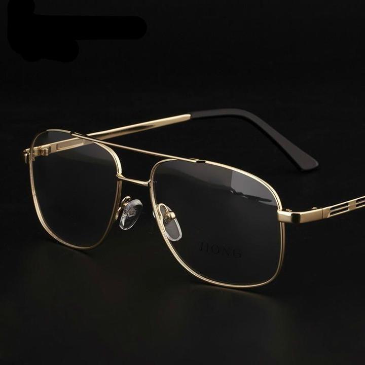 Photo of Mann Geschäfte Dicke Brillengestell Titanlegierung Vollformat Oculos Rx Optische Korrekturoptik Kurzsichtigkeit Brillengestell