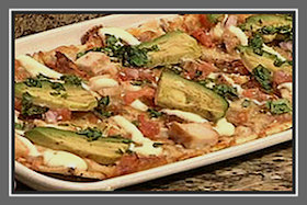 Recipe Spy: Chili's Bar and Grill: California Grilled Chicken Flatbread Recipe