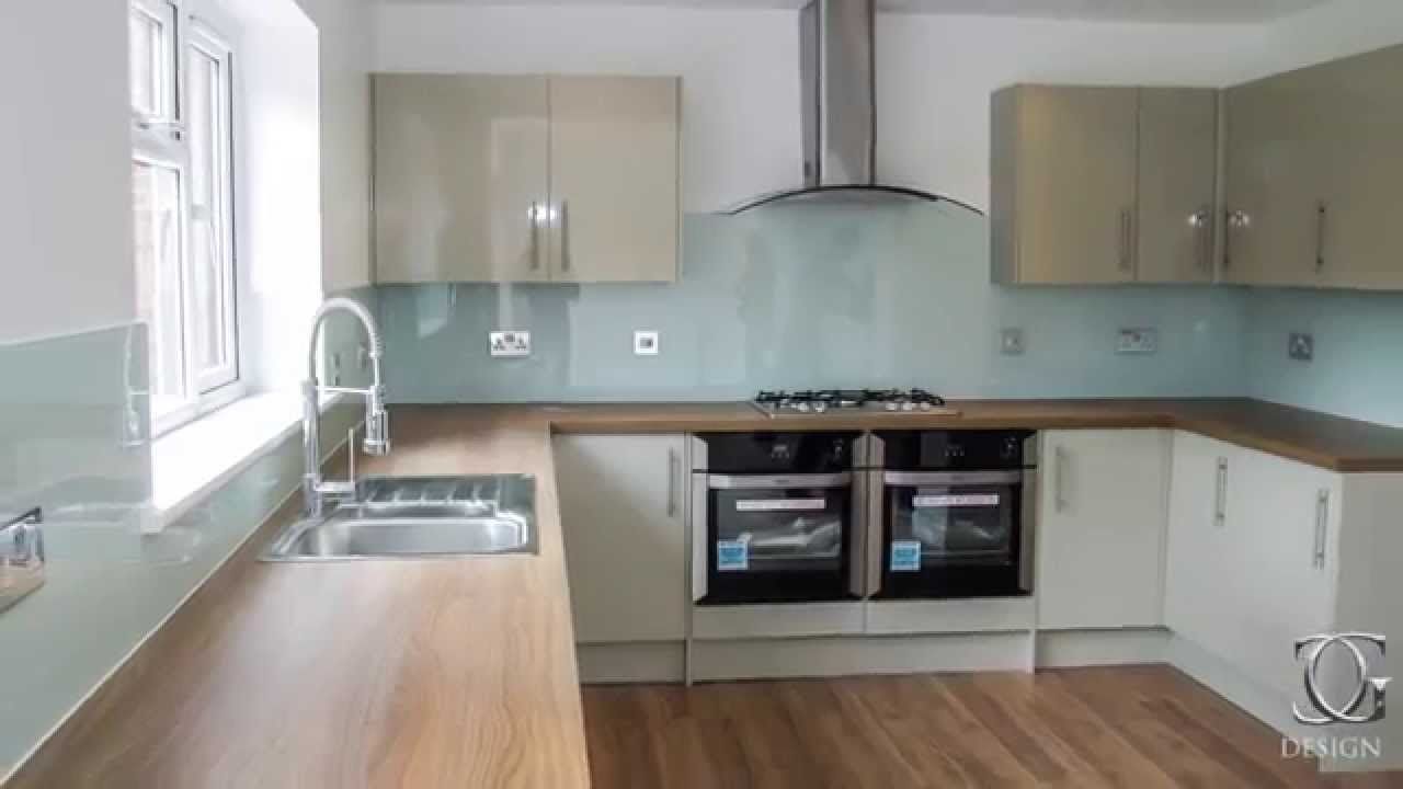 Coloured Kitchen Gl Splashback Installation By Creogl London Uk View More Ideas On Www Co