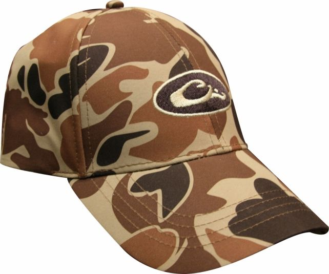Old School Waterproof Camo Cap - Old School  270129b98087