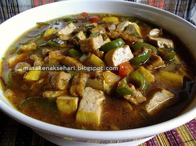 Resep Sayur Tempe Tahu Pedas Kuah Tanpa Santan Aneka Resep Masakan Sederhana Sehari Hari Resep Masakan Indonesia Resep Masakan Masakan