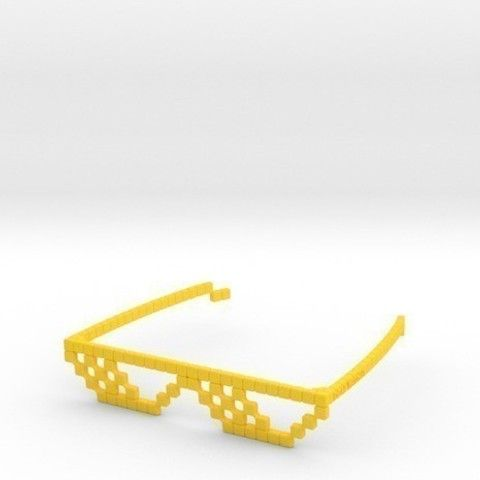 3D printing DEAL WITH IT - Shades, Salokannel