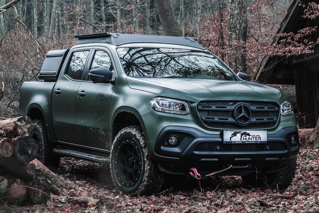 Mercedes Benz X Class Gruma Hunter Pickup Truck In 2020 With
