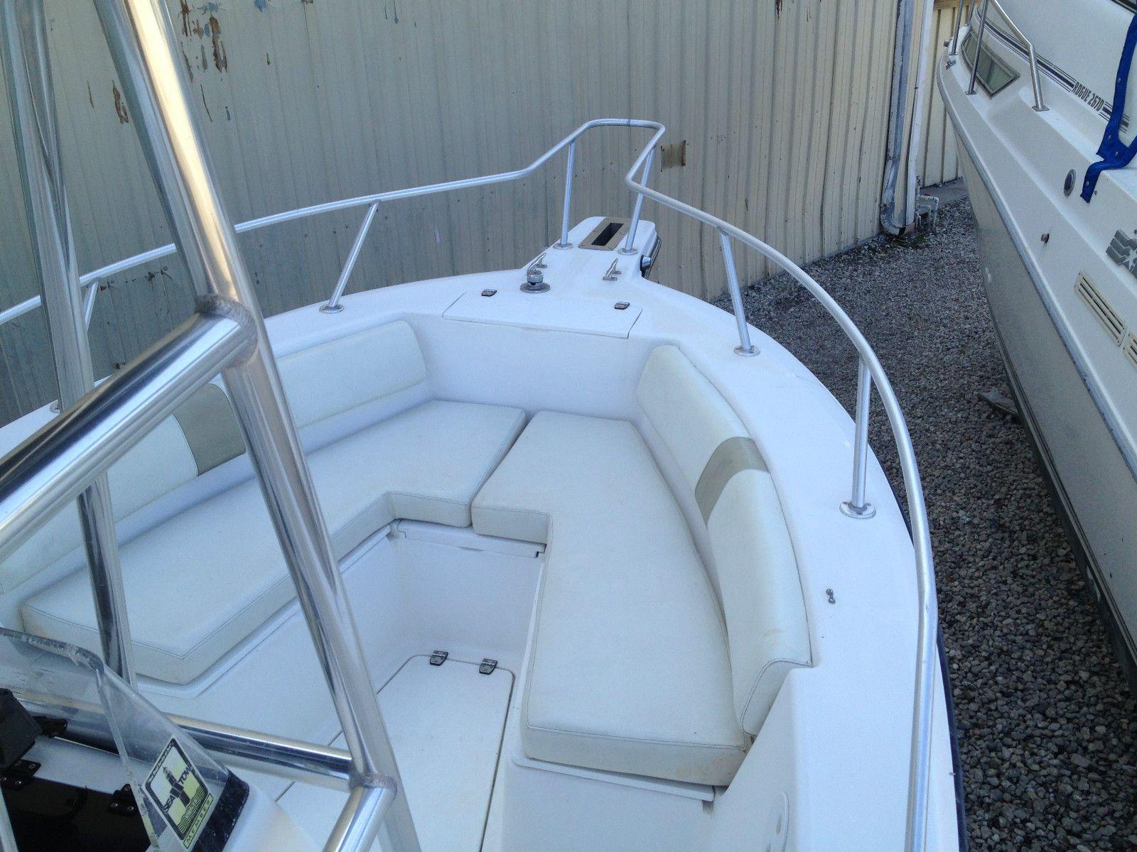 Ebay Boats Florida >> 2001 Angler 2100cc 21 6 Center Console Florida Center Console