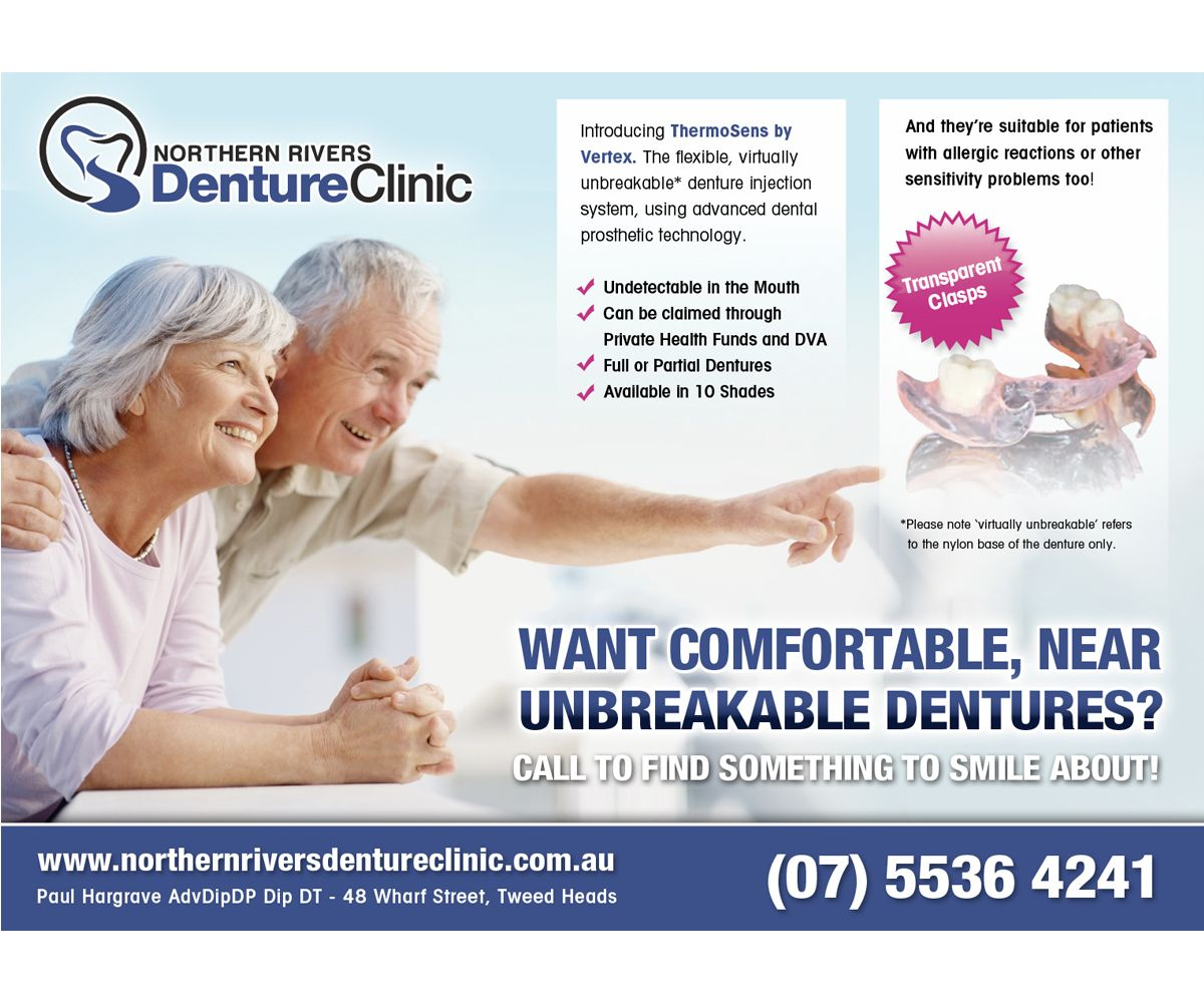Advertisement Design by jeffdefy for Denture Clinic needs a newspaper advertisement - Design #3920696