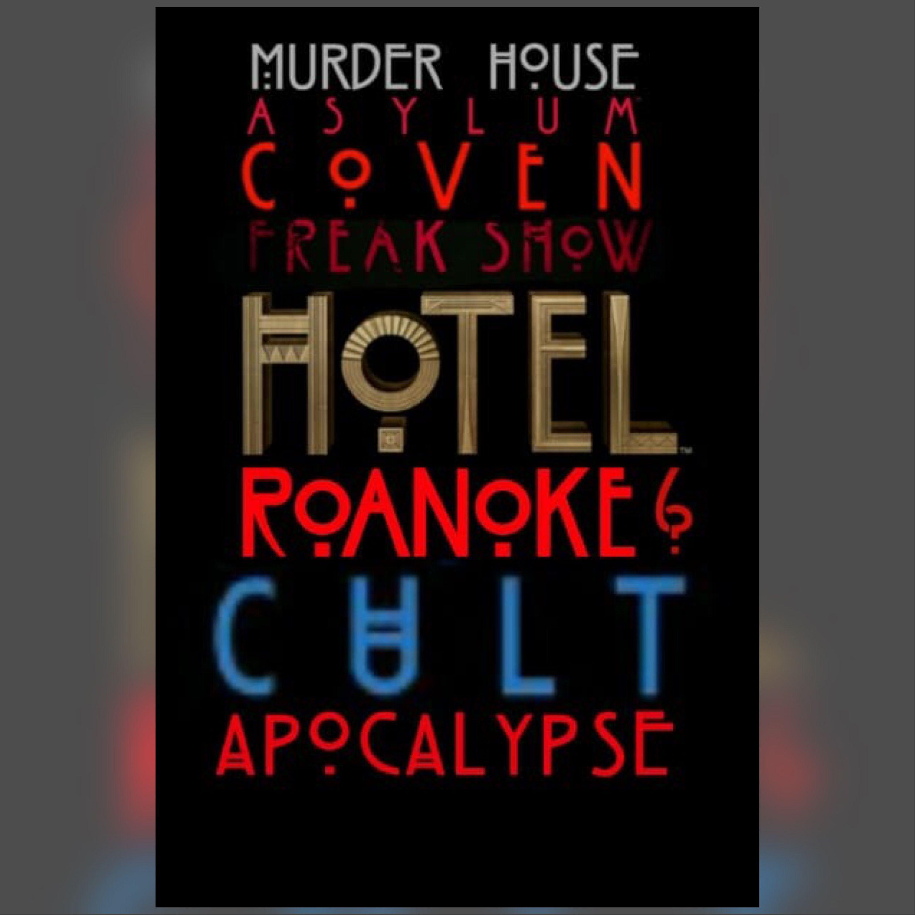 Ahs American Horror Story Apocalypse Season 8 Ahs