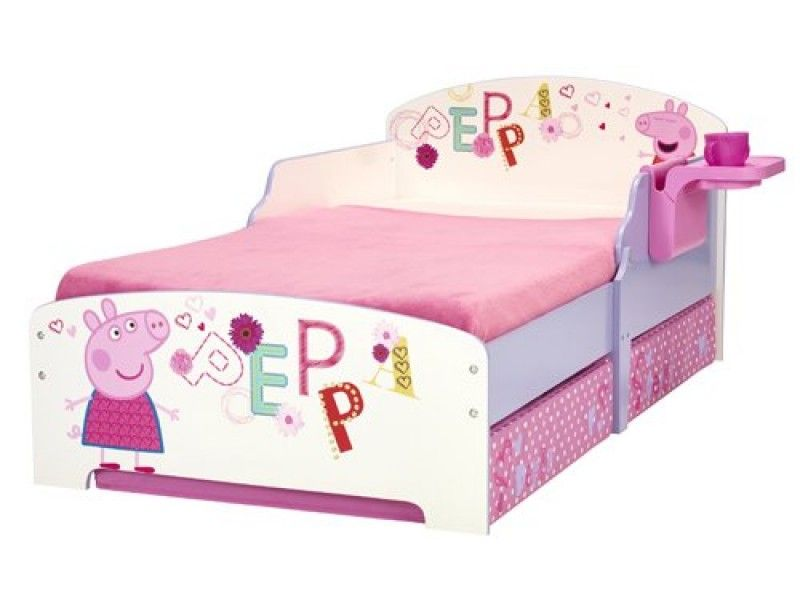 Plastic Toddler Bed Safe For Children And Could Use Character Cartoon Peppa Pig Toddler Bed For Toddler G Toddler Bed With Storage Toddler Bed Toddler Bed Girl