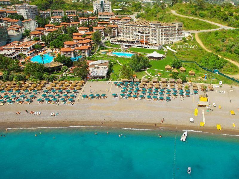 Otel Dnya Justiniano Deluxe Resort 5 Turciya Alanya Informaciya Nahoditsya Na Kurorte Okurdzhalar K Vashim Uslugam Chastnyj Pl Kurorty Oteli Puteshestviya