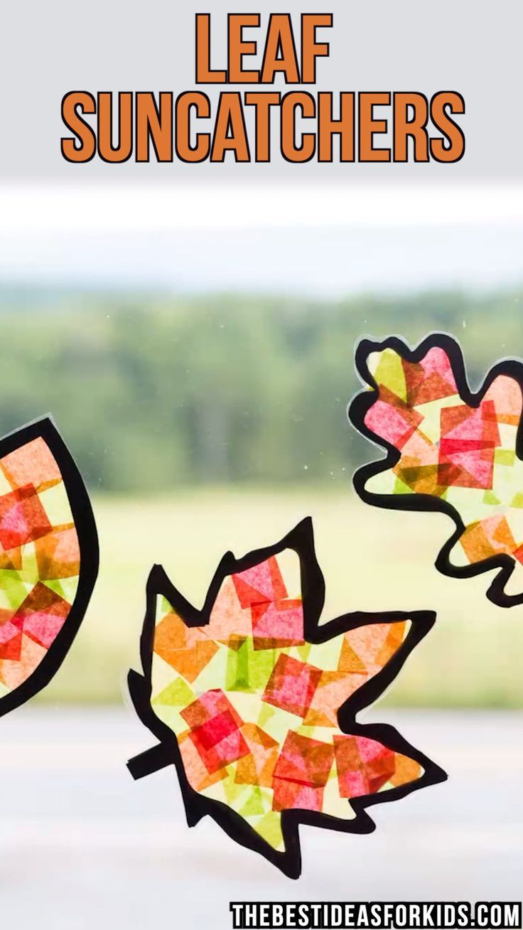 LEAF SUNCATCHERS ???????????? - Stempel -   #Leaf #Stempel #SUNCATCHERS #autumncrafts