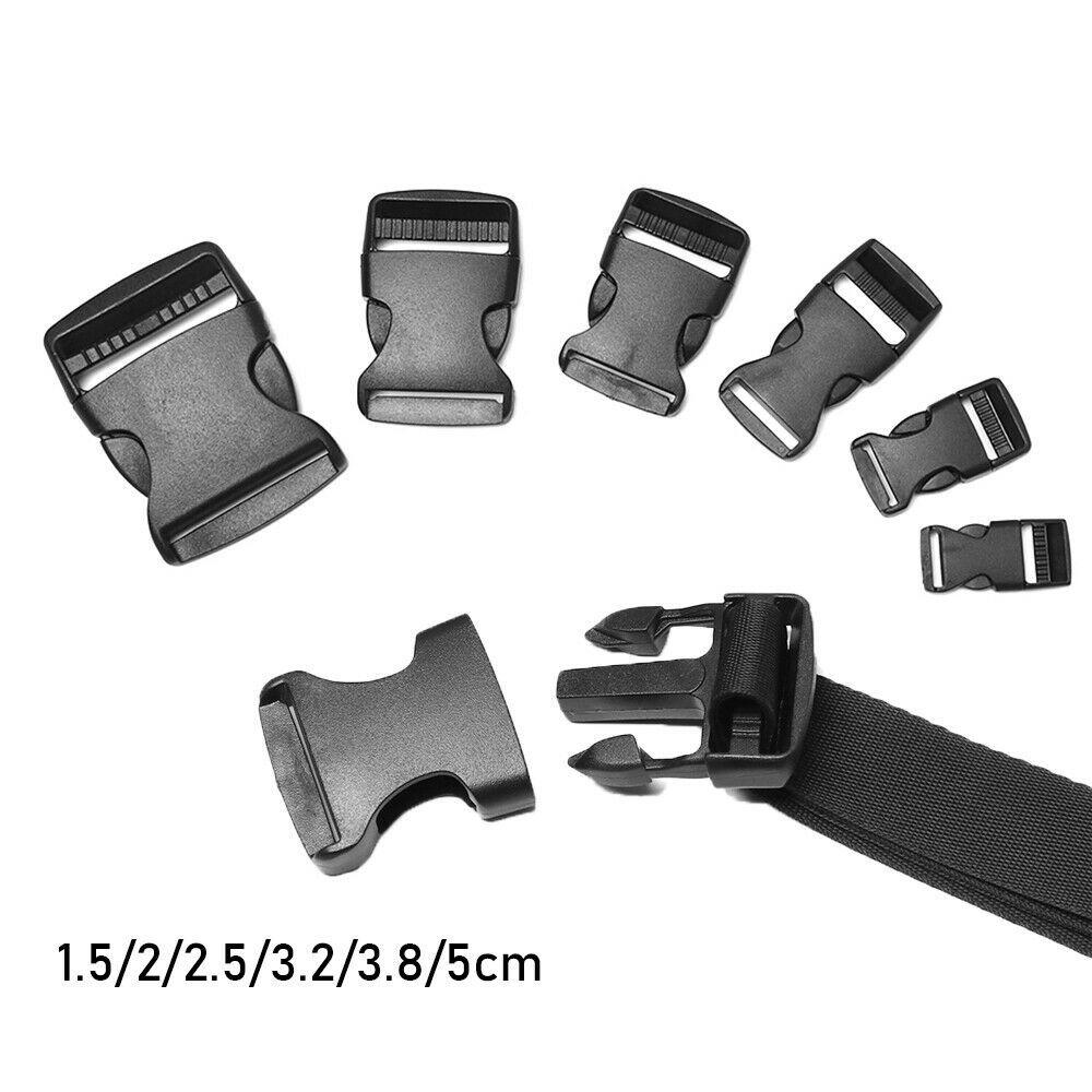 Backpack Belt Parts Side Release Buckles Paracord Bracelet Lock Curved Buckle
