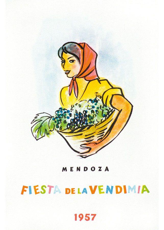 1957 S D Arte Y Educacion Vendimia Fiesta Nacional