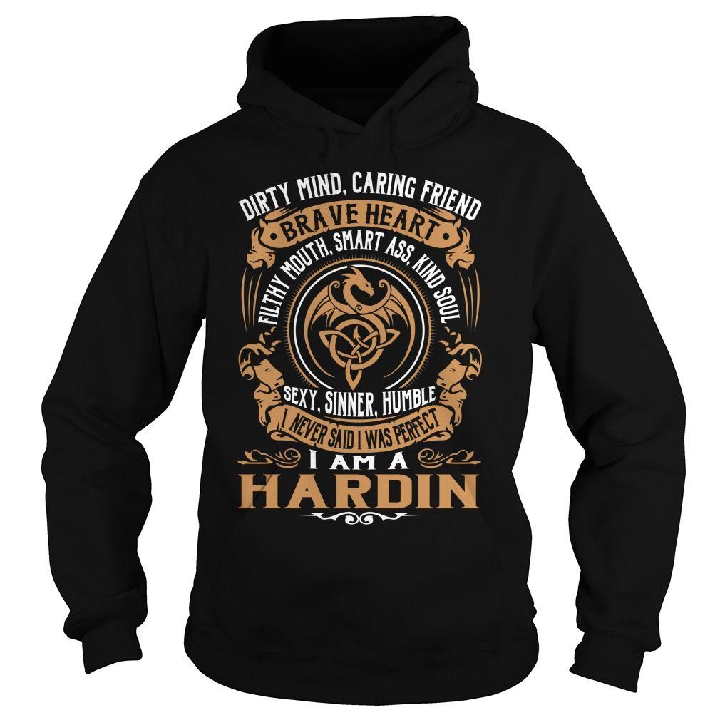 HARDIN Brave Heart Dragon Name Shirts #Hardin
