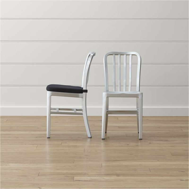 Delta Aluminum Dining Chair And Cushion KITCHEN Pinterest Inspiration Aluminum Dining Room Chairs
