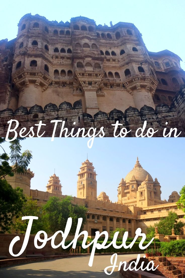 Things to do in Jodhpur, Rajasthan The Blue City! Blue