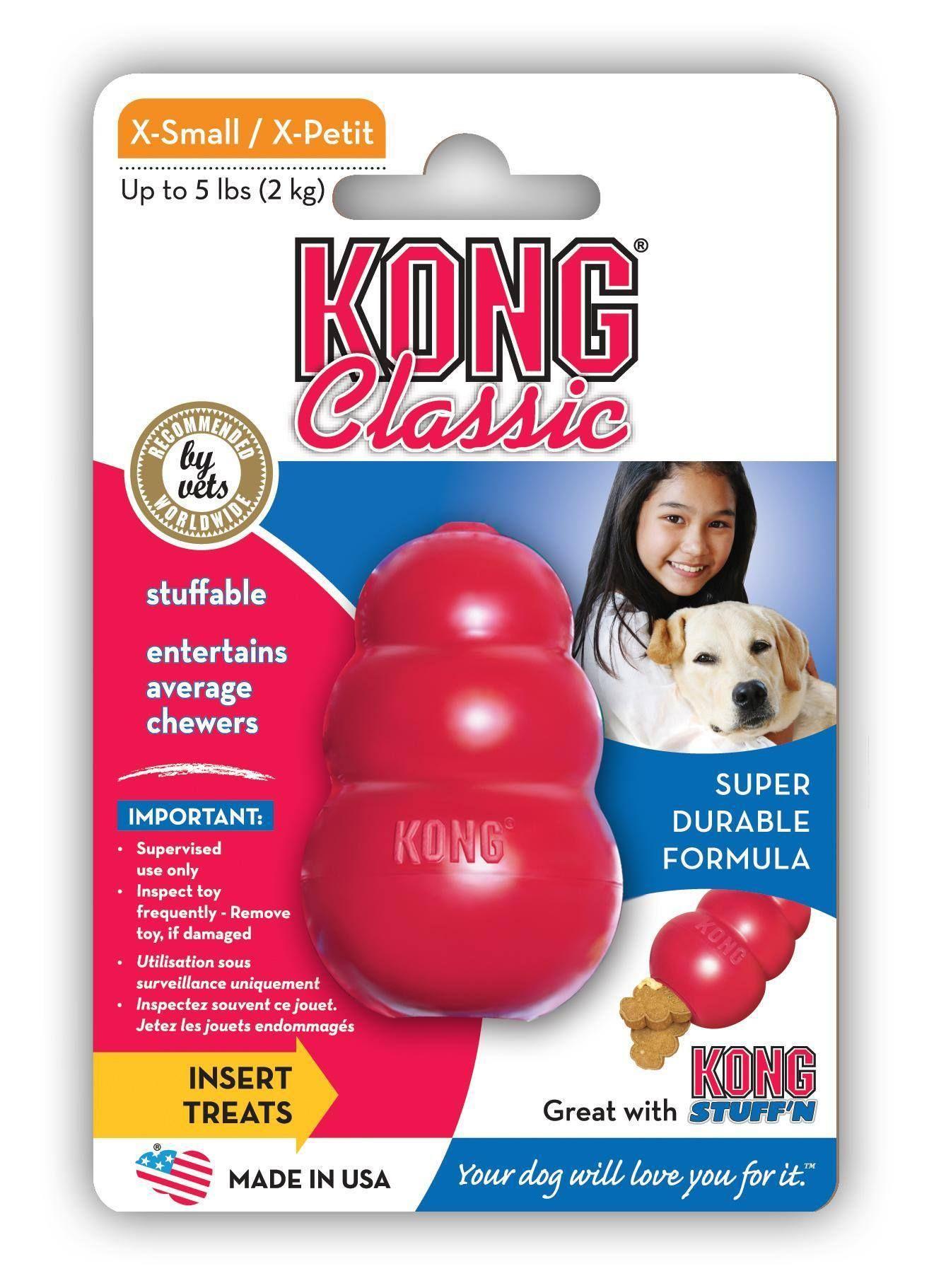 Kong Classic Kong Dog Toys Kong Classic Dog Toys
