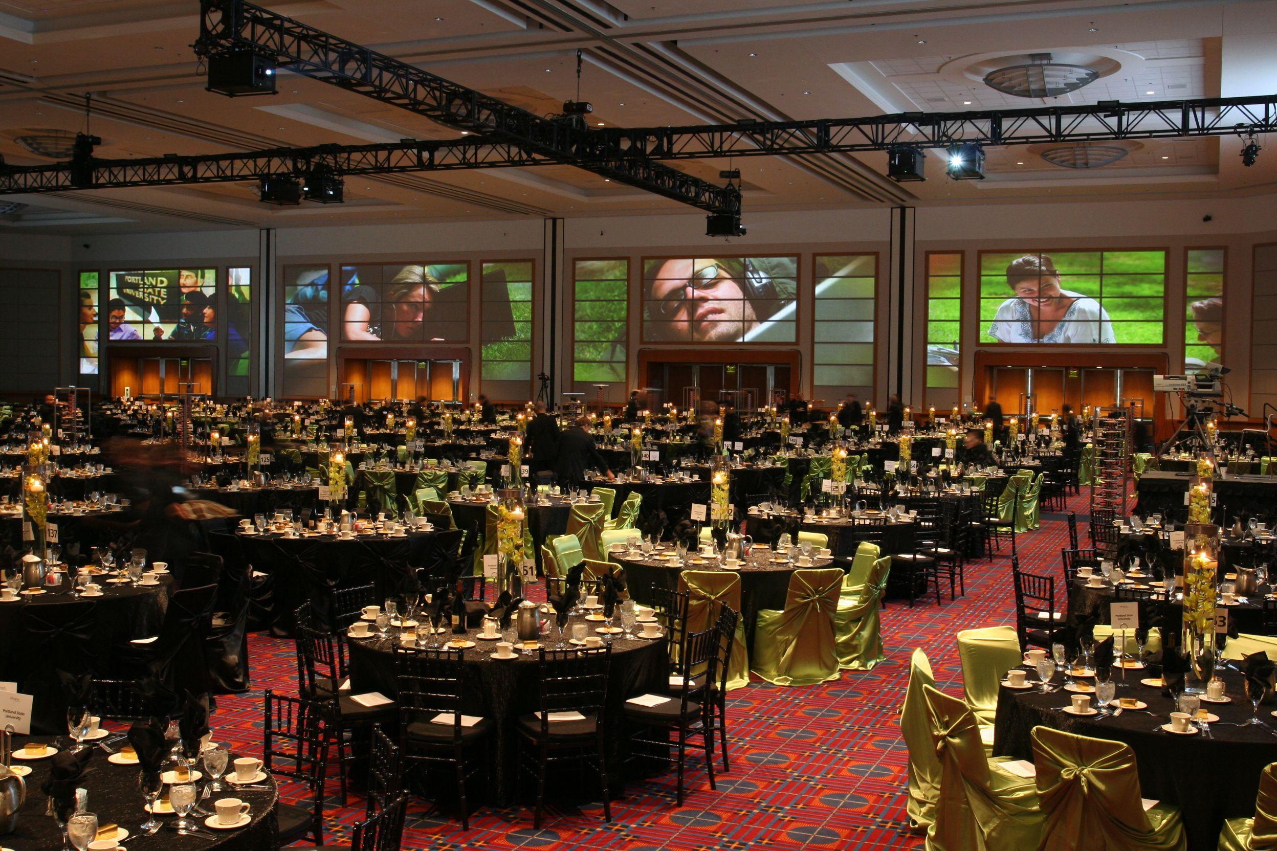 Portland Ballroom at the Oregon Convention Center. | Portland ...