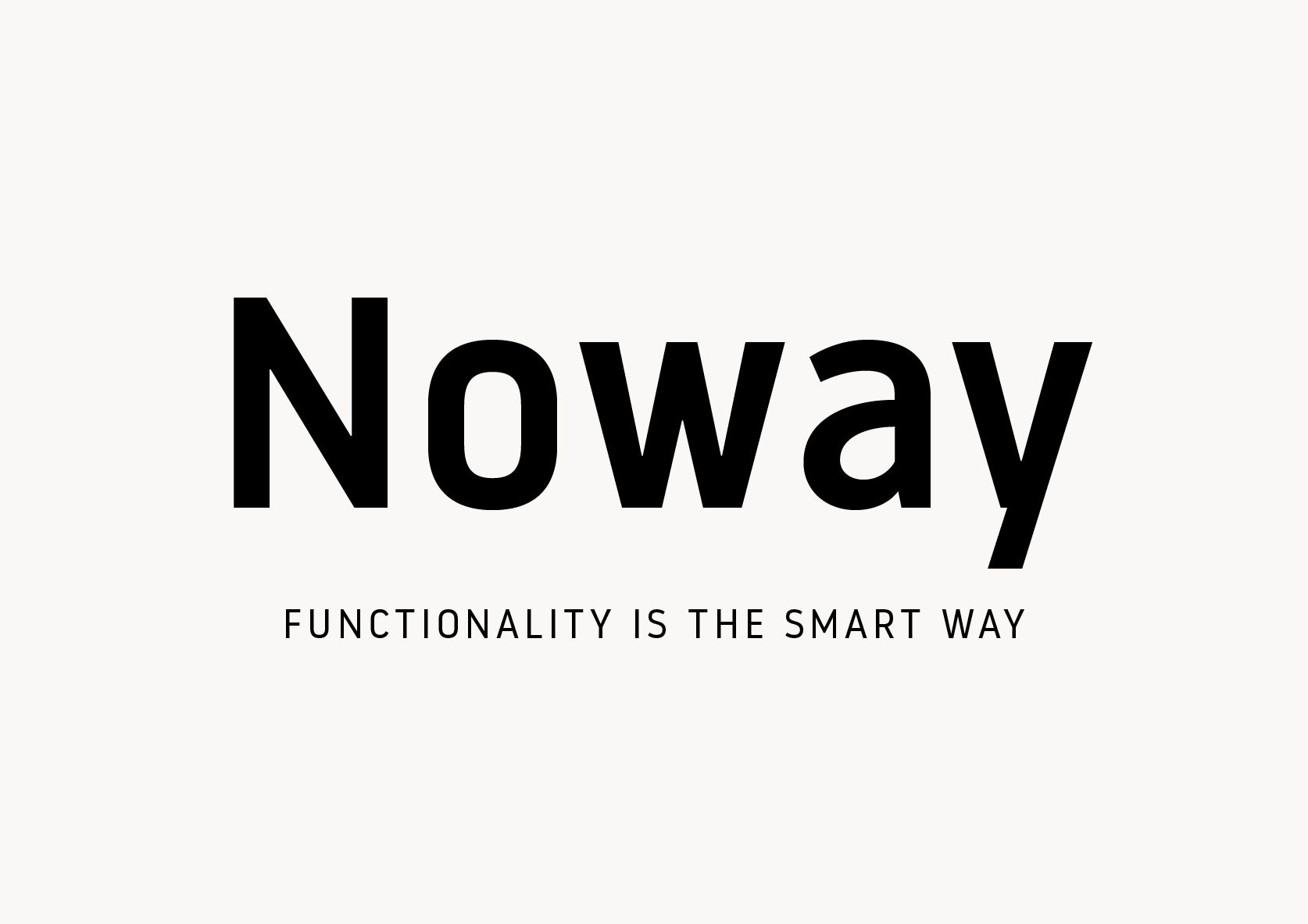 Noway, a functional sans serif font by atipo®  Download regular