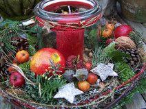 ein Adventslicht...3Teile #weihnachtsdekoglas